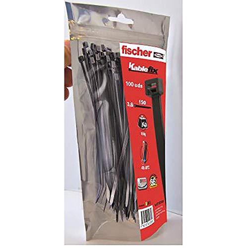 Fischer 037490 Kabelbinder BN 3,6x300 natur 100 Stück