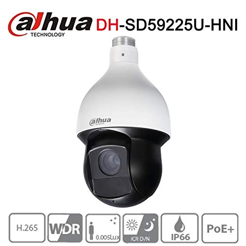 Dahua 2MP PTZ telecamera IP sd59225u-hni 25x Starlight IR 150m telecamera di rete English version laptop
