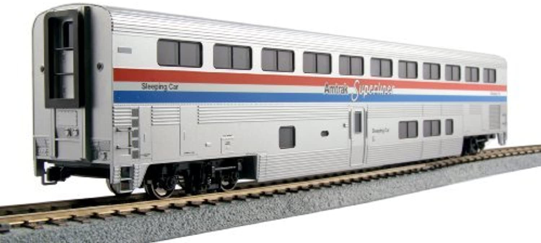 Kato USA Model Train Products Amtrak Phase III Superliner Sleeper by Kato USA Model Train Products