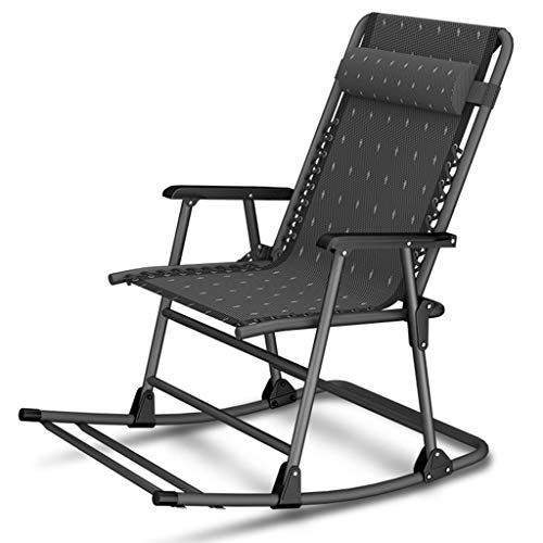 Fauteuil inclinable d'été chaise longue bureau paresseux de plage en plein air chaise berçante lit d'hôpital réglable chaise de terrasse
