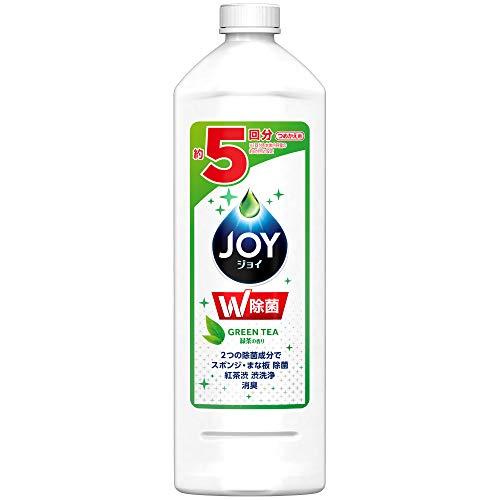 除菌ジョイ コンパクト 食器用洗剤 緑茶の香り 詰め替え 440mL