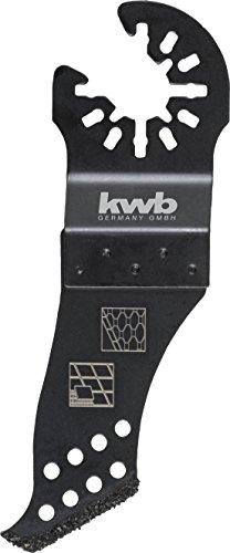 kwb AKKU-TOP Fliesen- und Fugenreiniger - Multitool Fugenkratzer aus Hart-Metall