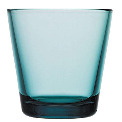 Iittala Kartio Verre Bleu océan 21 cl