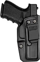 KYDEX IWB Holster Compatible with G-Lock 19 19X 23 32 45 Gen 1-5 Holster, Concealed Carry Holster, Durable KYDEX, Adjustable Retention and Cant, Right Hand
