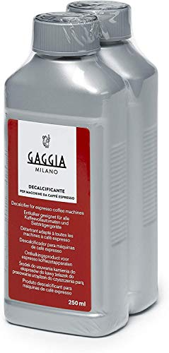 Gaggia Decalcifier Descaler Solution,250ml by Gaggia, 2er Pack