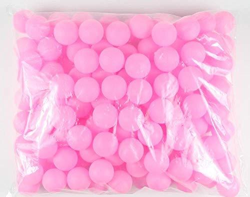 ❥Plástico ABS / pp, velocidad de golpe rápida y golpes cómodos ❥TAMAÑO PERFECTO PARA JUGAR: Estas pelotas de tenis miden 40 mm porque sabemos que este tamaño es excelente para jugar tu mejor juego de tenis de mesa. En los torneos oficiales, este es e...