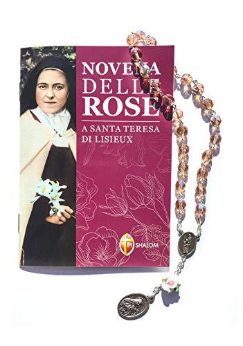 Novena delle Rose A Santa Teresa Di Lisieux E Corona delle Rose Di Santa Teresa Di Lisieux, In confezione regalo