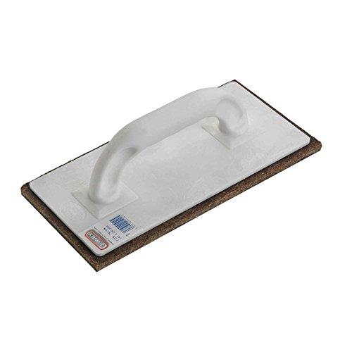 Connex COX781338 Reibebrett Kunststoff 14 x 28 cm mit Filz 10 mm