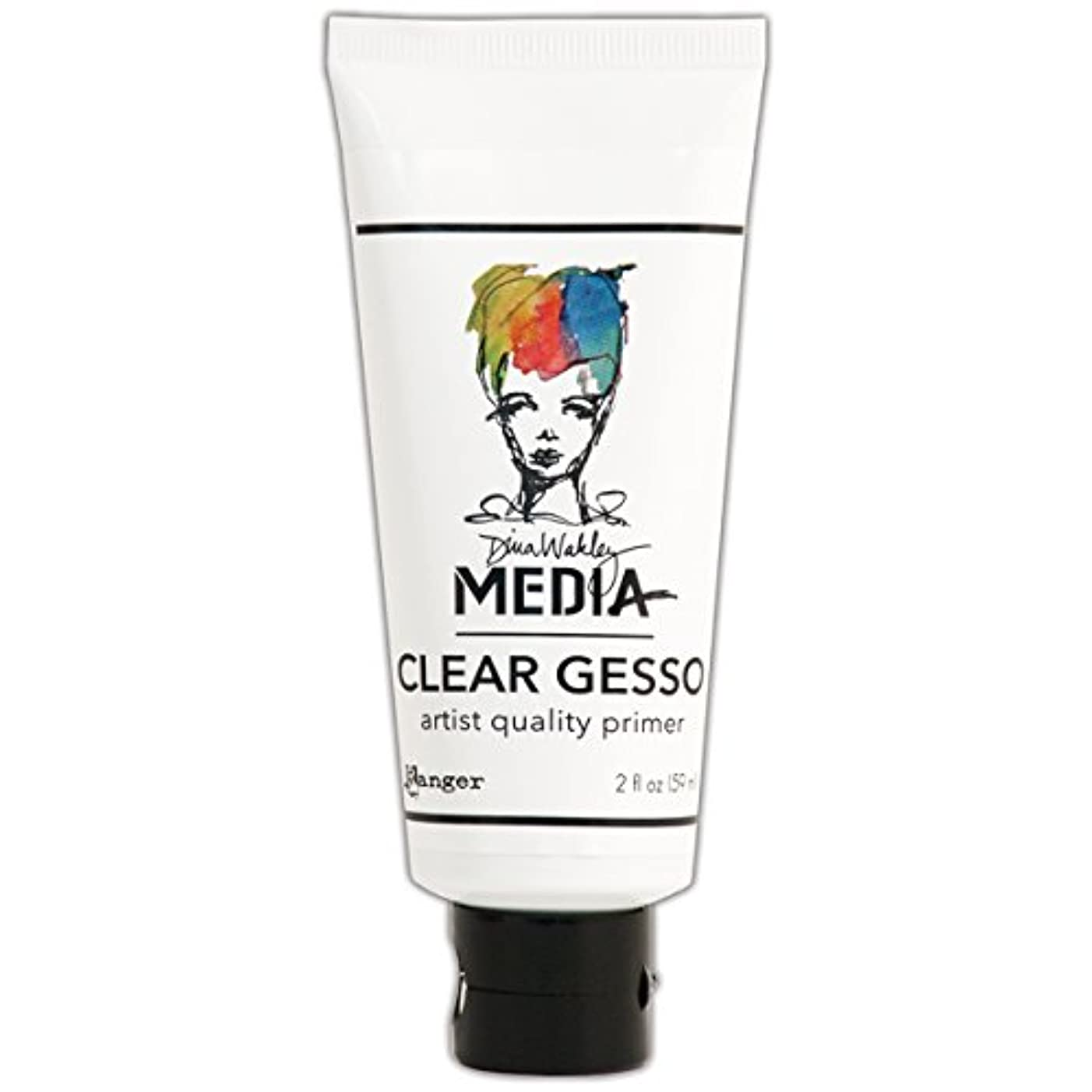 Clear Gesso Soft Gel Matte Medium 2oz