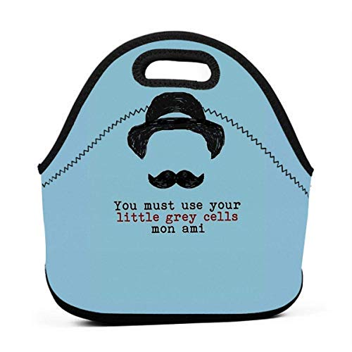 Lunch Tote Agatha Christie Hercule...