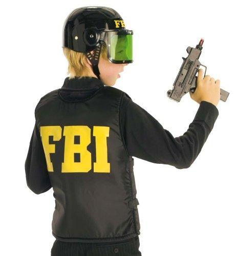 Kinderkostüm FBI-Weste Kinder Größe 128 Fasching Karneval