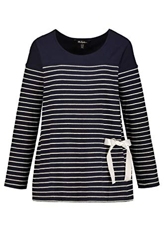 Ulla Popken Damen große Größen Sweater Marine 50/52 727372 70-50+