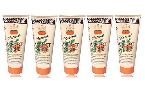 GLAVON ADS Everyday Naturals Hydrating & Exfoliating Apricot 200 gm Scrub in Combo with Crazy Lips Lip Balm(Red) [ Super Pack of 6 Items ]