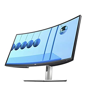 Dell U3421WE UltraSharp Curved Monitor 34.14 Inch Ultrawide Monitor WQHD  3440 x 1440p at 60Hz  in-Plane Switching Technology 100mmx100mm VESA Mounting Support Platinum Silver  Latest Model