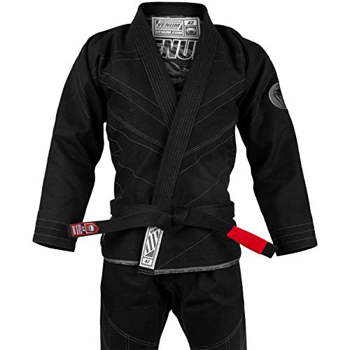 VENUM Classic 2.0 Kimono De Jiu Jitsu Brasileño/BJJ Gi, Unisex Adulto, Negro, A2.5