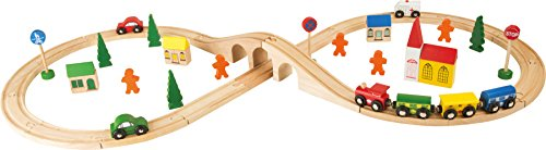 Small Foot Company - 1090 - Circuit De Train Miniature Et Rail - Chemin De Fer - En Huit