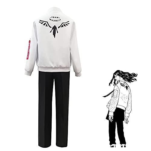 Tokyo Revengers Valhalla Disfraces de Cosplay, Anime Tokyo Revengers Figuras Hanemiya Kazutora Baji Keisuke Uniforme Carnaval de Halloween Trajes de Cosplay para Hombres Mujeres