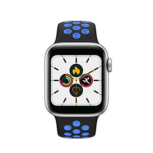 BaoZan Smartwatch,Relojes Inteligentes Impermeable IP67 para Mujer Hombre niños,Reloj de Fitness con Monitor de Frecuencia Cardíaca/Sueño/Calorías/Pasos,Pantalla Inteligente de 1.5'para iOS Android