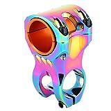 Keen so - Potencia Corta para Manillar de Bicicleta de 35 mm, Barra de Manillar de Bicicleta de Pulido de aleación de Aluminio, Coloré