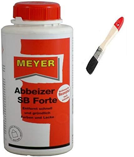 Abbeizer Lackentferner Entlacker Abbeizmittel GEL inkl. Pinsel von E-Com24 (Abbeizer 0,75 Liter)