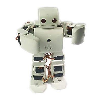 Humanoid Robot Kit Plen2 for Arduino 3D Printer Open Source plen 2 for WiFi Control DIY Robot Graduation Teaching Model Toy,Black