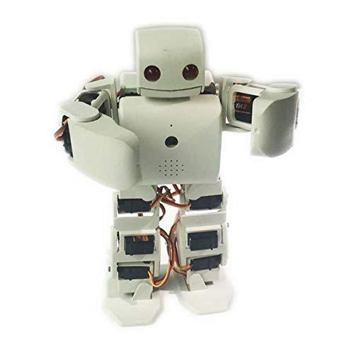 HARLT Robot humanoide Kit Plen2 para la Impresora 3D de código Abierto Arduino plen 2 para el Control de WiFi Juguete Modelo de enseñanza de Bricolaje Robot graduación,Negro