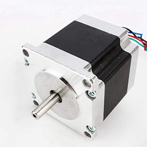 Leftwei 12,6 kgcm 2,5 MHz 2,5 V Schrittmotor, 23 Schritt 4-Leiter-Einwellenmotor, für Graviermaschinen Markierungsmaschine Tintenstrahldrucker Medizinische Industrie