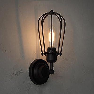 Fuloon Vintage Retro Iron Ceiling Lamp Flush Mount Light Grapefruit Light( Light Bulb Not Included)