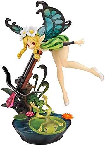 Figura de acción de Anime YIGEYI Odin Sphere Elf Mercedes 8,66 Pulgadas Figuras de PVC Figuras coleccionables Modelo de Personaje Juguetes de Estatua