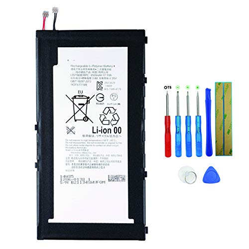 Swark Akku LIS1569ERPC Compatible with Sony Xperia Z3 Tablet Xperia Tablet Z3 Compact SGP611 SGP612 SGP621 SGP641 SOT22 1286-0138 1ICP3/77/149 1286-0138
