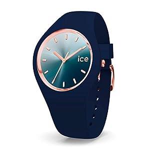 Ice-Watch – ICE Sunset Blue – Women's Wristwatch with Silicon Strap – 015751 (Medium)