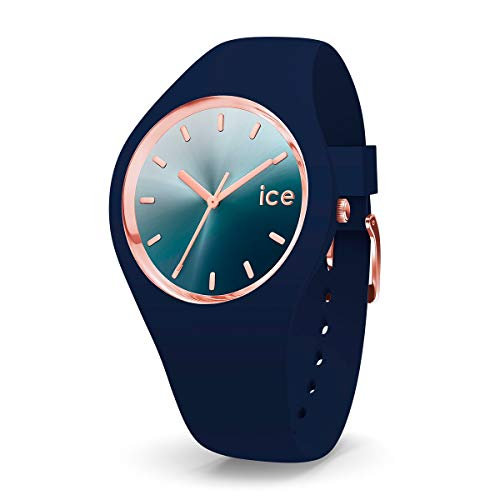Ice-Watch Ice Sunset Blue, Orologio Blu da Donna con Cinturino in Silicone, 015751, Medium