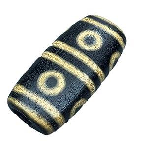 ZHIBO Antike, achtäugige alte Dzi-Perlen-Halsketten-Kollektion