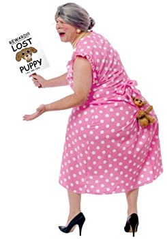 Fun World Lost Dog Costume Standard Pink