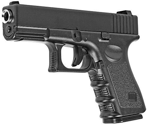 Evil Wear Softair Gun Airsoft Vollmetall P16 Federdruck Pistole 16cm 0,5 Joule
