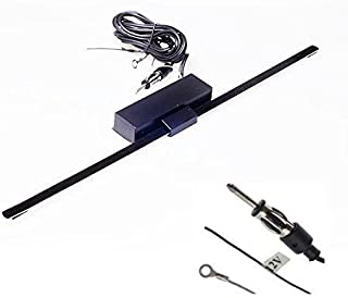 Audioproject A114   Aktive Autoradio Scheibenantenne AM FM 12V Fenster Innen Verstärker KFZ PKW LKW Wohnmobil UKW MW Empfang Klebeantenne Antenne
