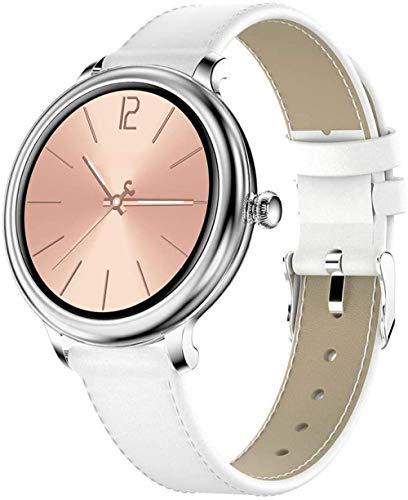 SHIJIAN Reloj inteligente para mujer con pantalla táctil, resistente al agua, con monitor de frecuencia cardíaca, regalo de cumpleaños, regalo de San Valentín, regalo de día de San Valentín