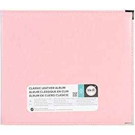 We R Memory Keepers 0633356609193 Classic Album Album & Sleeve-12 x 12-Ring-Pretty Pink, 12″ x 12″