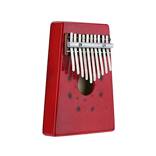 Andoer® 10 Tasten Birke Finger Daumenklavier Mbira