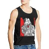 Lsjuee Lil Wayne Camisetas sin Mangas de algodón para Hombre Camisetas sin Mangas Negro