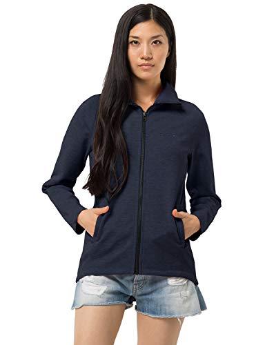 Jack Wolfskin Damen Bilbao Jacket W Fleece-Jacke, Midnight Blue, L