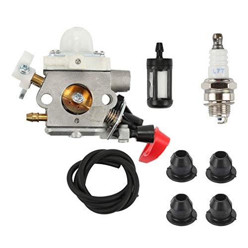 SM SunniMix Kit de Carburateur Filtre à Carburant œillets pour Stihl FS40 FS50