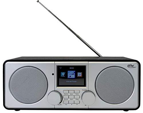 Elta WLAN und Internet Radio DAB-9000 IR (Stereo, DAB Plus, UKW, Wecker, USB 3.0, Farb-LCD-Display)