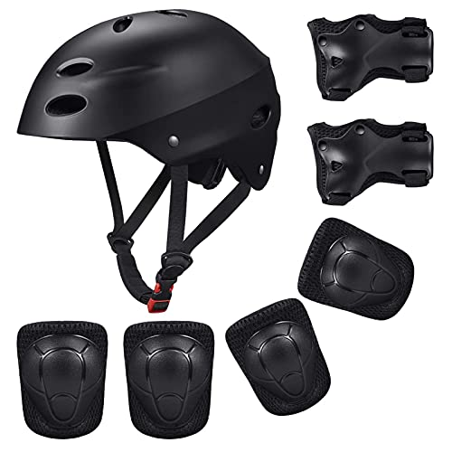 Kid's Protective Gear Set,Roller Skating Skateboard BMX Scooter Cycling Protective Gear Pads...