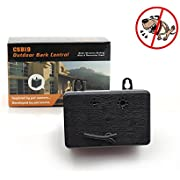 Fomei Harmless Ultrasonic Dog Bark Control Devices by Waterproof Outdoor Anti Dog Bark Controller, Ultrasonic Training Dog devices, Bark Stop Repeller Silence Dog Training Control Repellent