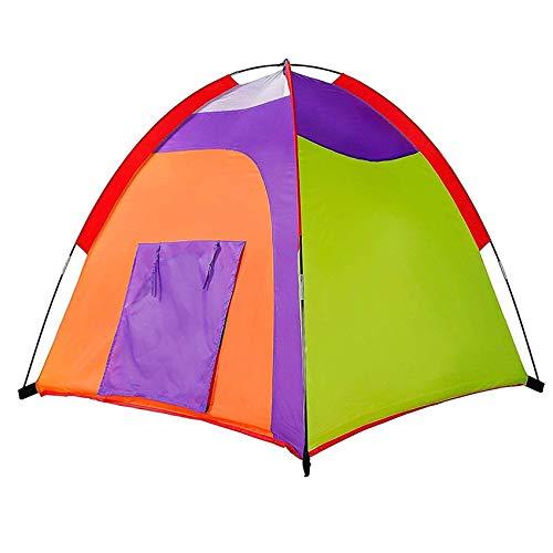 "Alvantor Kids Tent Indoor Children Play Toy Toddler Pop up Outdoor Games Colourful Curvy Patent, 48""x48""x42"""
