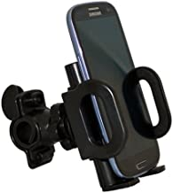 Xenda Universal Rotating Bicycle Mount Bike Handlebar Cell Phone Holder for Samsung Galaxy Nexus, Nexus S - LG Optimus G - HTC Droid DNA, Droid Incredible 4G LTE - Motorola Droid Razr, Razr M, Razr HD, Razr Maxx, Razr Maxx HD