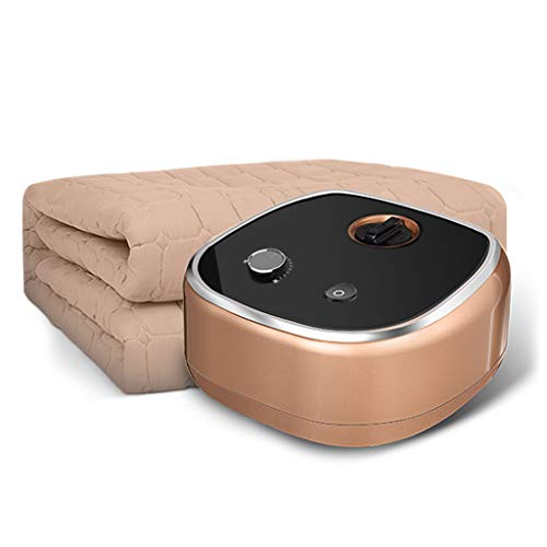 Eiiist verwarmingsdeken voor 1 en 2 personen, watercirculatie, veilig en niet stralend, warmteonderbed, elektrisch