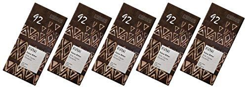 ViVANI エキストラダークチョコレート 92% 80g×5個 ★ コンパクト ★ 有機JAS ★ 有機カカオ92% ★ 砂糖不使用・有機ココナッツシュガー使用★