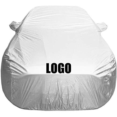 ZMQWE AutoAbdeckung Kompatibel mit Peugeot 208,308,Autogarage Autoabdeckung Vollgarage Stoff Wasserdicht Hagelschutz Eingebaut Baumwolle,308
